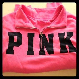 Pink Victoria's Secret Pullover Sweatshirt Large